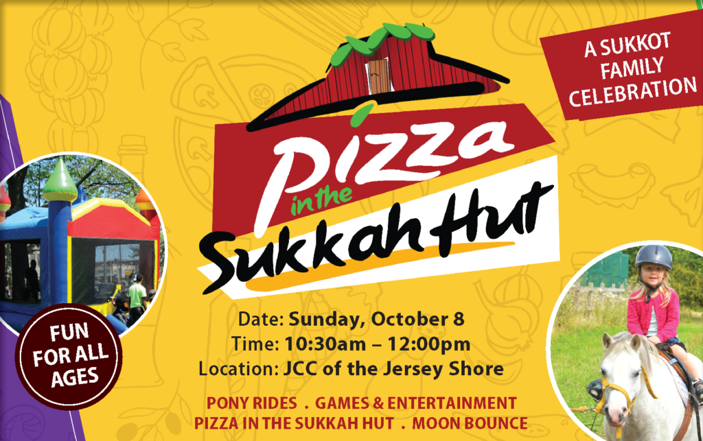Pizza in the Sukkah – Chabad of the Shore